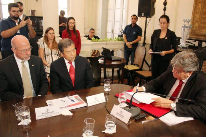 João assina protocolo para instalar estaleiro de R$ 3,5 bilhões na PB