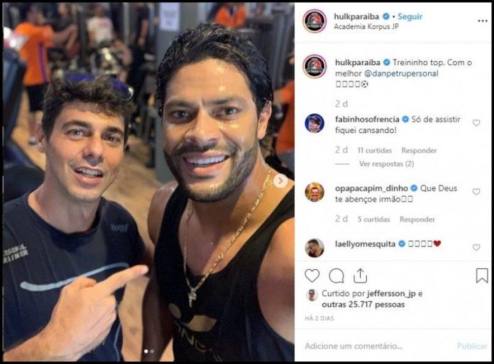 De férias na PB, Hulk conta detalhes do hotel que está construindo em João Pessoa