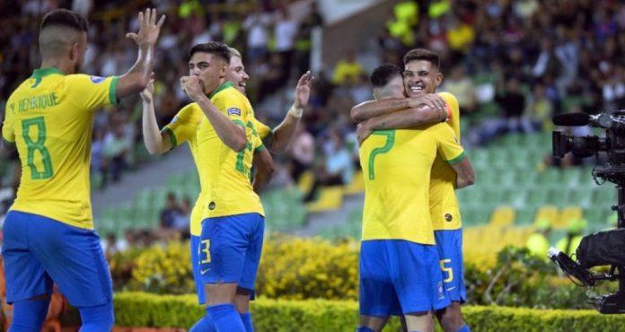 Sem atacante paraibano em campo, Brasil vence na estreia do Pré-Olímpico