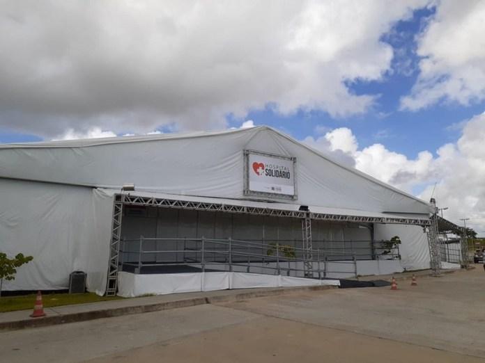 Hospital de Campanha é desmontado nesta segunda-feira, em Santa Rita