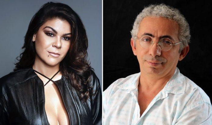 Cantora Myra Maya deseja sorte a Marcus Alves, novo diretor da Funjope