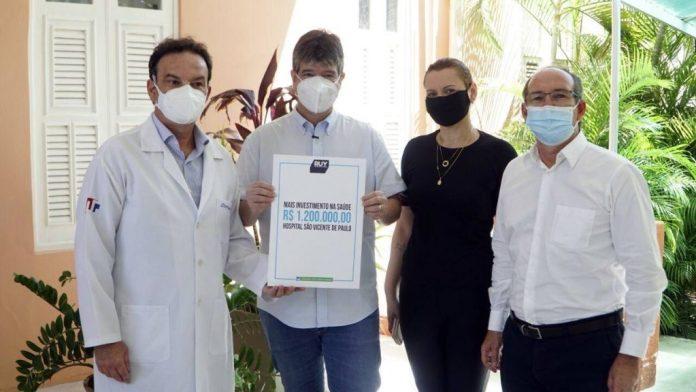 Ruy destina emenda de R$ 1,2 milhão para Hospital São Vicente, em JP