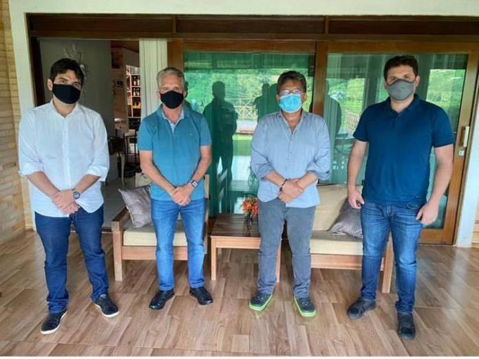 Adriano, Murilo, Nabor e Hugo traçam ações administrativas e políticas