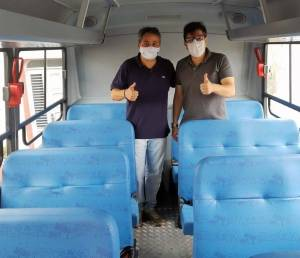 Efraim Filho destina novo ônibus escolar para o município de Solânea