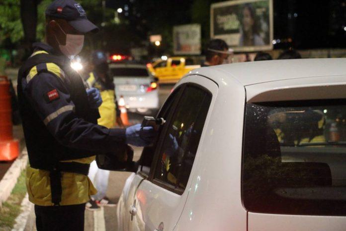 PB: Lei Seca autua 82 condutores por embriaguez em único final de semana