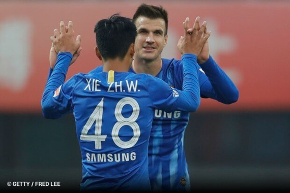 Jiangsu Suning é o último classificado para semifinais do Campeonato Chinês