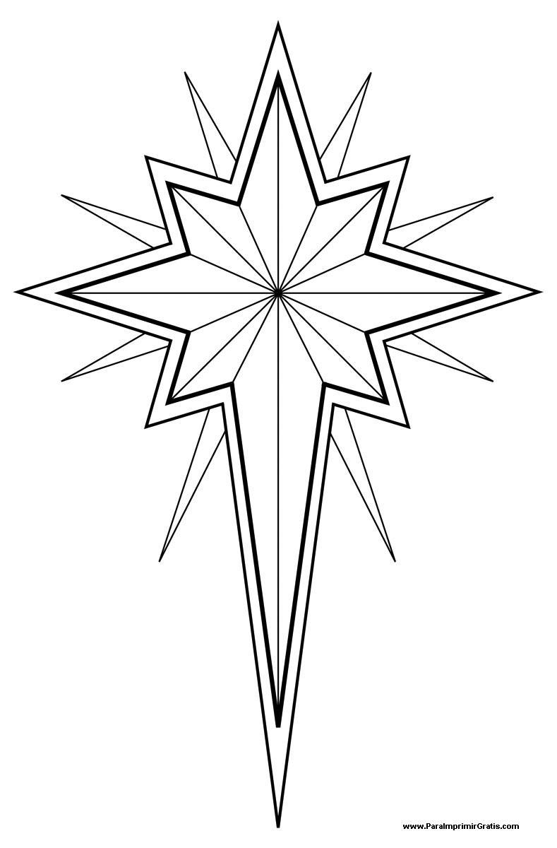 Star David Pattern Printable