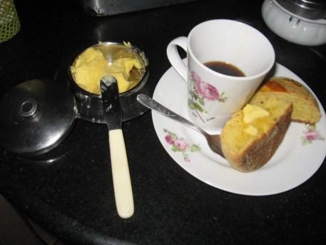 Café com Broa de Milho