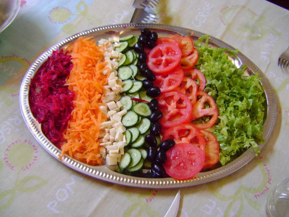 Salada Crua. 1