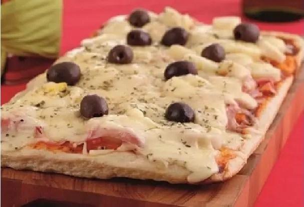 RECEITA PARA PIZZA