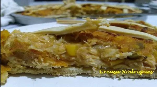 Tem Na Web - TORTA DE FRANGO COM REQUEIJÃO