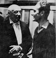 PARAJANOV.com - Pablo Picasso and Jean Carzou
