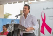 Gobernador lanza Campaña Estatal de Cáncer de Mama en Jalisco