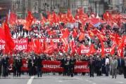 Miles marchan en todo el mundo por el Día Internacional del Trabajo