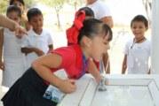 Avance del 90% en la instalación de Bebederos Escolares de Seapal