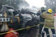 Choque múltiple deja dos muertos en la México-Querétaro