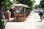 Plan Piloto de mobiliario en aceras de avenida México, controversial pero positivo y en regla