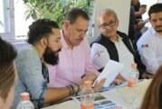 Reúne Jaime Cuevas a pobladores de San Pancho, Profepa y Semarnat
