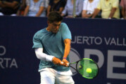 """En gran juegodentro del """"Puerto Vallarta Open 2018"""", el local Gerado """"Jerry"""" López cayó ante el estadounidense Alexander Sarkissian"""