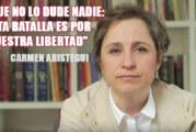Carmen Aristegui fue ilegalmente despedida de MVS, resuelve corte