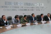 Instala Aristóteles Junta de Gobierno del Escudo Urbano C5