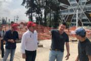 Supervisa Gobernador obras en Periférico Norte y Viaducto Belenes en GDL