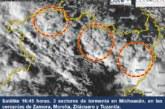 Willa evolucionó a huracán categoría 3 en la escala de Saffir- Simpson