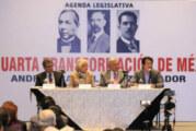 "AMLO anuncia ""cachetada con guante blanco para la política neoliberal"""