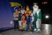 Reparten Reyes Magos alegría y diversión en Las Juntas y Pitillal