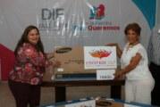 Recibe DIF donativo en especie de PROFEM IAP