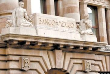 Banxico mantiene su tasa de interés en 8.25%