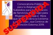 Secretaría de Salud suspende apoyo a mujeres que viven violencia extrema