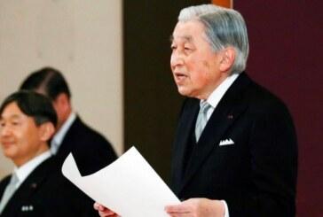 El emperador de Japón abdica oficialmente y cede el trono a su hijo