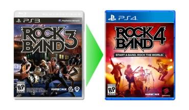 Rock Band 3 Rock Band 4