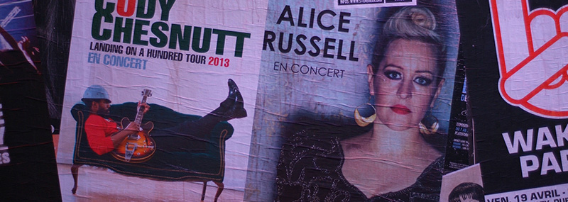 Alice Russell concert, Nantes