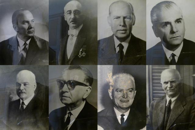 Παλιοί πρόεδροι της Λέσχης Θεσσαλονίκης