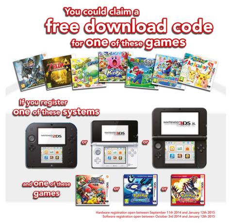 nintendo 3ds download games free