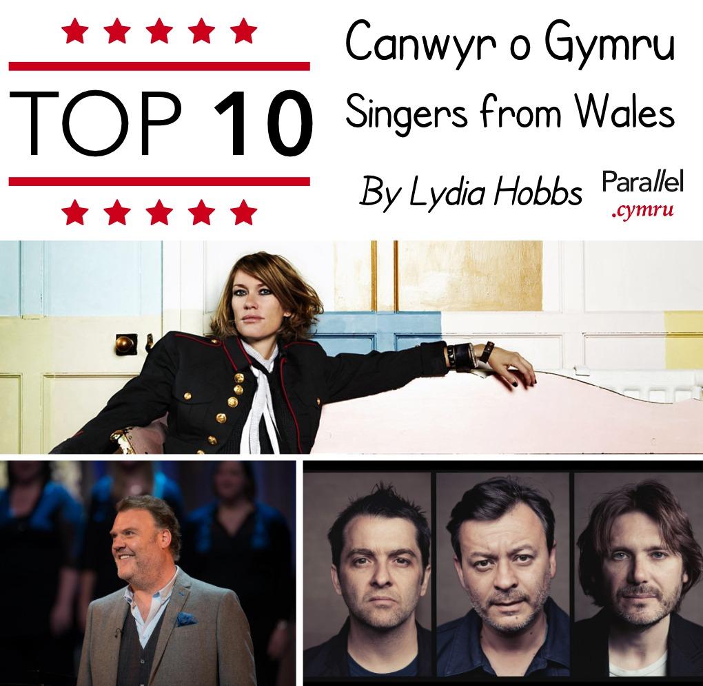 Top 10 Canwyr o Gymru