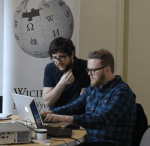 Wicimedia Wicipopup with Huw Stephens
