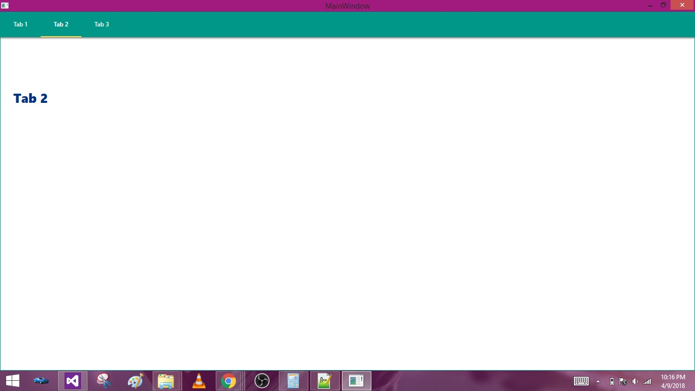 WPF Designing Material Design Tabs with Dragablz • ParallelCodes