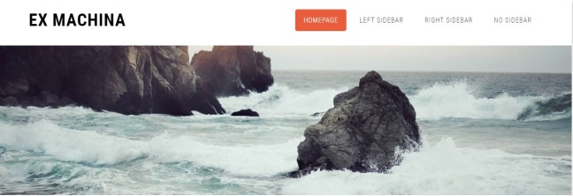 free css templates download ex machina theme