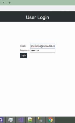 Download MVC Angular JS Login form Source code