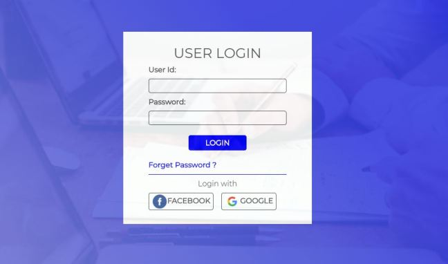 login page design css and html 01