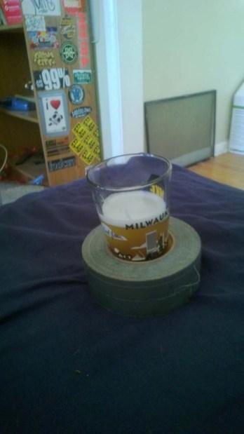 3.) Como soporte para vasos...