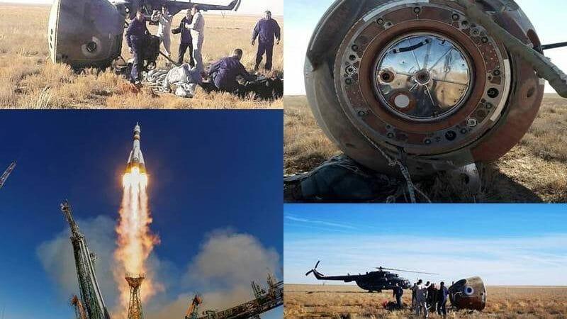 Increible: Astronauta sobrevive a fallo de cohete.