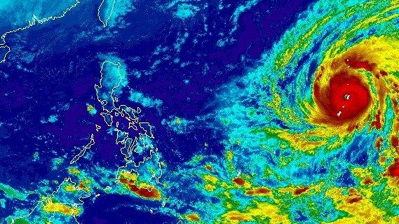 YUTU: La tormenta mas fuerte del 2018 (super typhoon)