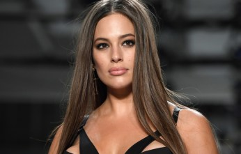 "Model Ashley Graham walks the runway for Addition Elle on September 11, 2017 during the New York Fashion Week in New York City.  Ashley Graham, who last year became the first ""curve"" model on the cover of the annual ""Swimsuit Issue"" of magazine ""Sports Illustrated"" is on the cusp of becoming a household name. / AFP PHOTO / ANGELA WEISS / TO GO WITH AFP STORY BY JENNIE MATHEW        (Photo credit should read ANGELA WEISS/AFP/Getty Images)"