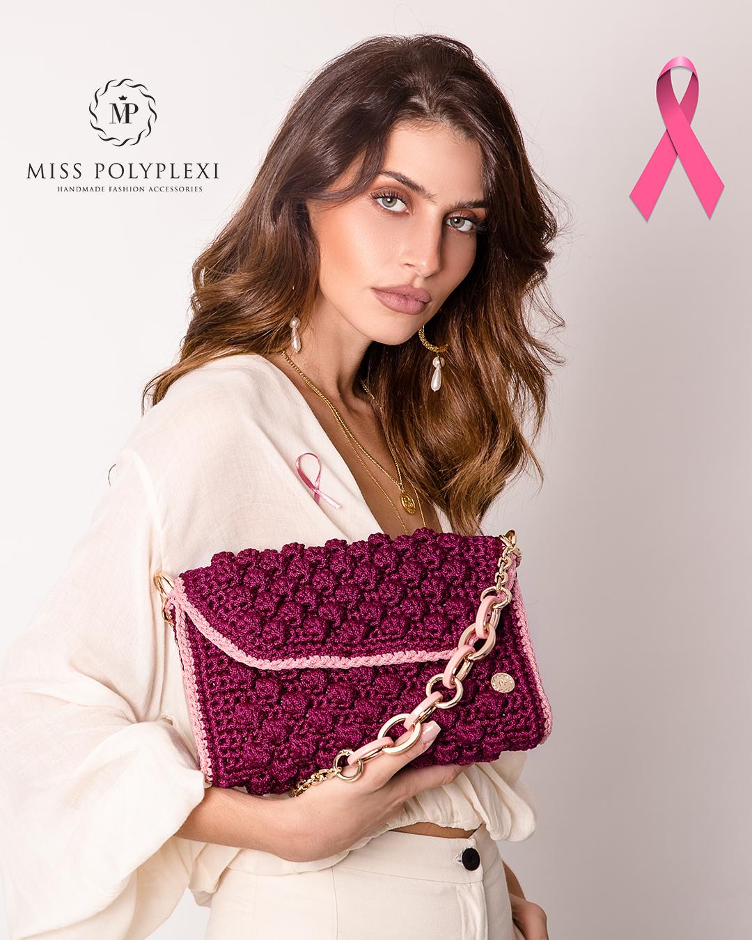Miss Polyplexi Alma Crimson Pink Shoulder Bag 2526.2