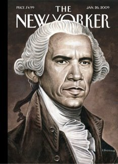 The New Yorker's Commemorative Inauguration Cover, Jan 2009