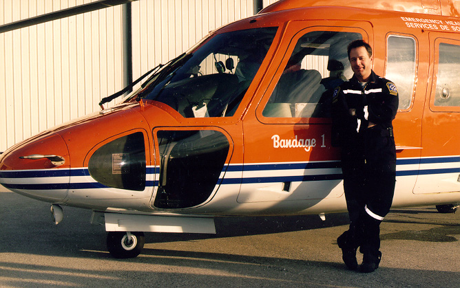 Rob Theriault, Critical Care Flight Paramedic